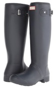 Gray Hunter Rain Boots