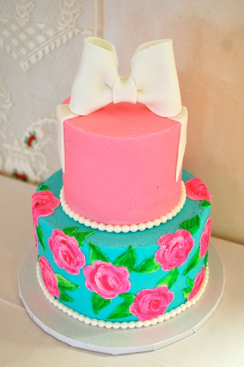 Lilly Pulitzer Cake Design