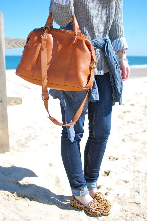 Madewell Monogrammed Bag