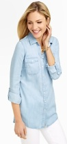 Long CHambray Shirt