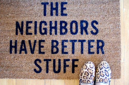 fun door mats