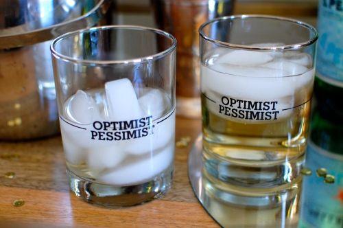 Optimist Pessimist Glasses