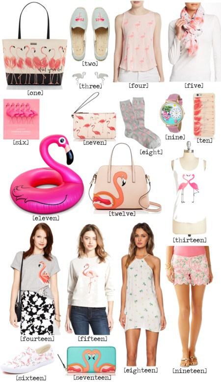 Flamingo clothes