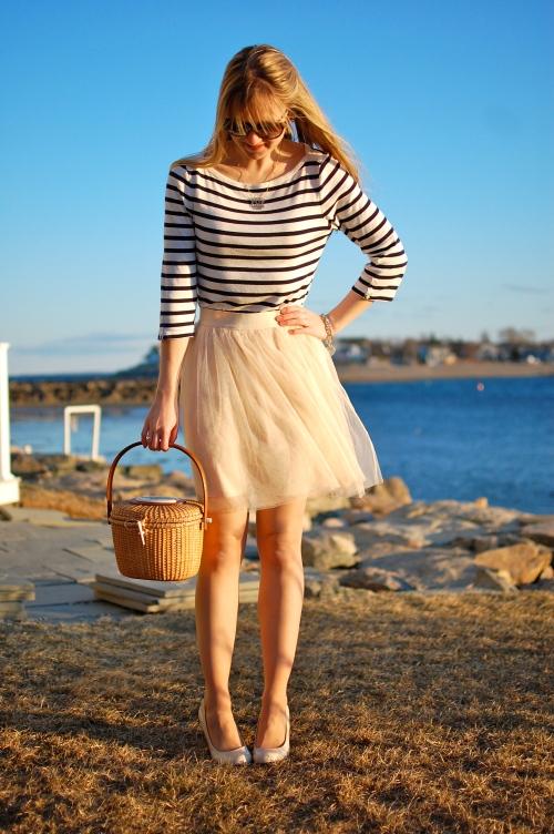 LC Lauren Conrad Tulle Skirt